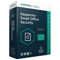 Phần mềm diệt virus Kaspersky Small Office Security  10PCs + 1 file Server